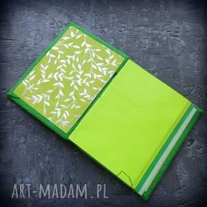 handmade notesy pamiętnik notes a6 z filcową twardą okładką