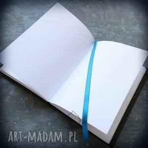 ręcznie robione notesy notes a5 z lnianą twardą okładką