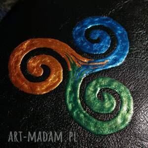 handmade notesy celtycki notes a6 z twardą okładką