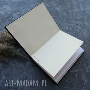 handmade notesy plecionka notes a6 z twardą okładką