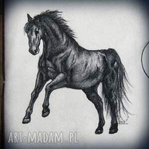 ręcznie wykonane notesy koń notes a5 ze skórzaną miękką