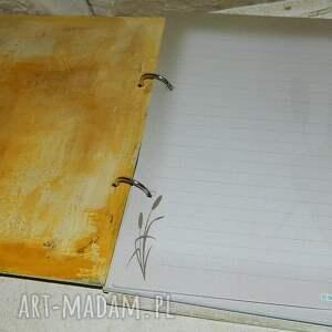 zielone notesy album notes,