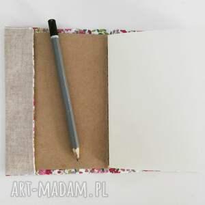 niepowtarzalne notesy pamiętnik notes liść