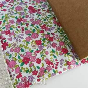 notes notesy różowe liść