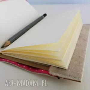 czarne notesy len notes mandala