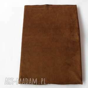 notesy: Okładka na notatnik A4 - skóra naturalna jagnięca