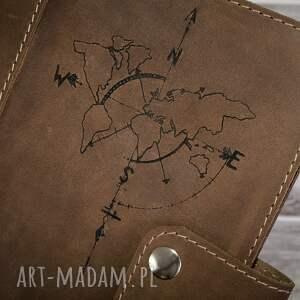 notesy etui ręcznie robiony skórzany notes