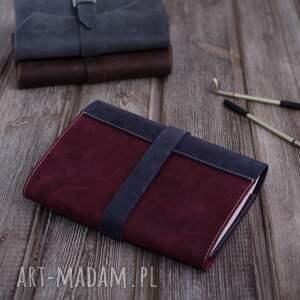 notatnik ręcznie robiony skórzany notes