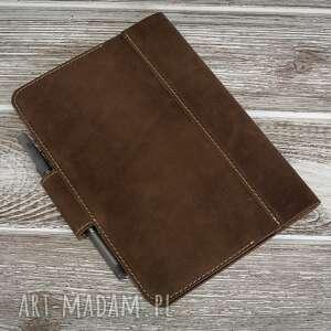 wyraziste notesy etui ręcznie robiony skórzany notes