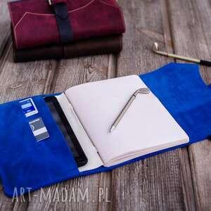 kalendarz notesy ręcznie robiony skórzany notes
