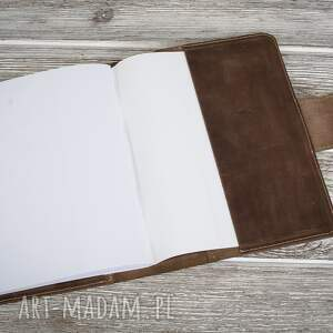 etui notesy ręcznie robiony skórzany notes