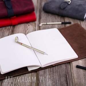 notesy prezent skórzane etui na dziennik, tablet
