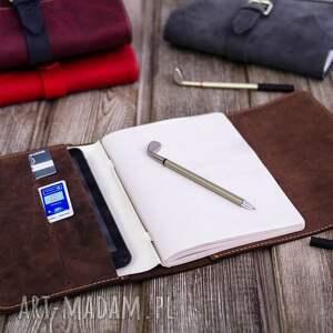 niekonwencjonalne notesy prezent skórzane etui na dziennik, tablet