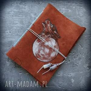 hand made notesy notatnik skórzany zeszyt a6 z okładką