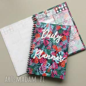 trendy notesy zestaw planerów, notes dzienny