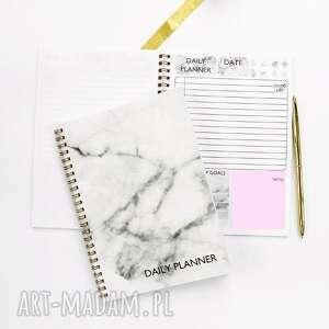 szare notesy notes zestaw 2 planerów dziennych
