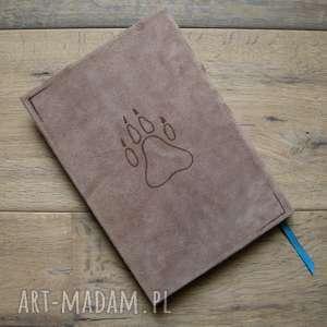 pamiętnik notesy brązowe zeszyt a5 w twardej skórzanej