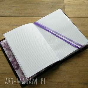 notesy: zeszyt a5 w twardej skórzanej oprawie - okładka z twoim wzorem książka
