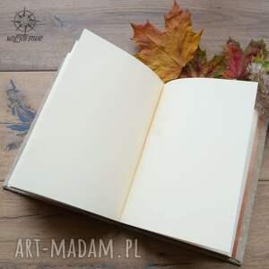 notesy: zeszyt a5 w twardej skórzanej oprawie - okładka z twoim wzorem notatnik