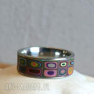 oryginalne obrączki obrączka kolorowa obraczka