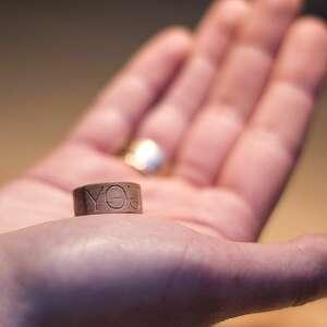 ręcznie zrobione obrączki obrączka pierścionek z drewna