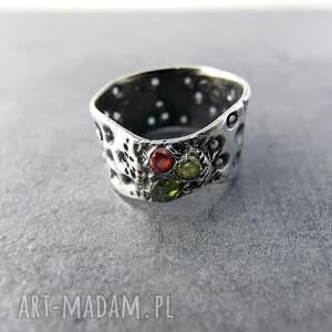 ręcznie zrobione obrączki artclay pierścionek art clay silver