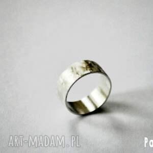 obrączki metaloplastyka silver- unisex-2
