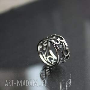 handmade obrączki obrączka zakręcona