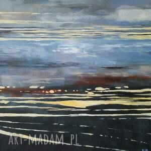 abstrakcja -obraz akrylowy formatu