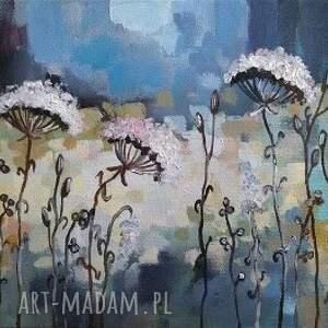 łąka abstrakcyjna v - obraz
