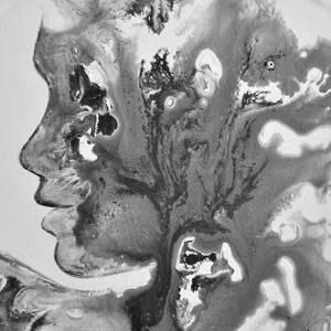 obraz malowany w technice akrylowej na płótnie
