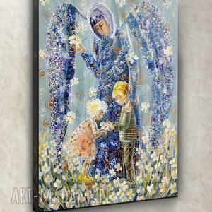 frapujące anioł stróż dzieci pierwsza