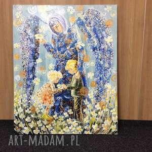 awangardowe obrazy 4mara anioł stróż dzieci 100x80cm
