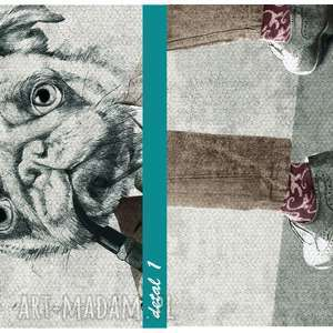 szare obrazy chłopaki 02 -137 - 120x80 cm