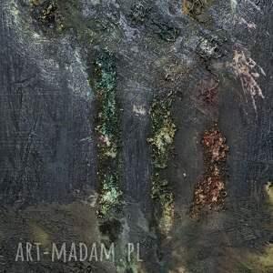 abstrakcja ciemne drzewa