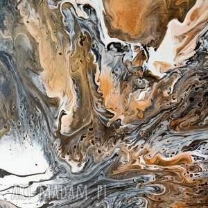 czarno - złoty granit abstrakcja
