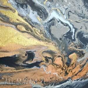 do salonu białe czarny piasek xl - nowoczesny obraz
