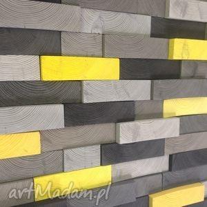 ściana drewniany obraz na zamówienie
