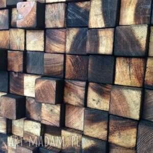 czarne drewno drewniany obraz na zamówienie