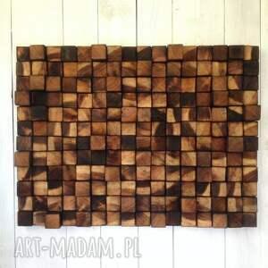 mozaika drewniany obraz na zamówienie