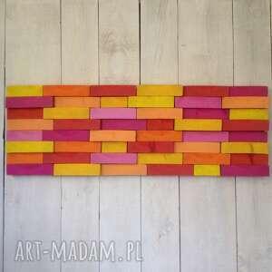 niesztampowe ściana drewniany obraz na zamówienie