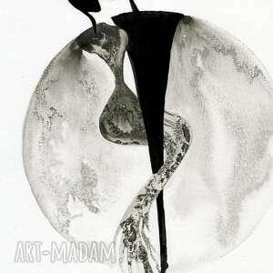 eleganckie grafika 30x40 cm wykonana ręcznie