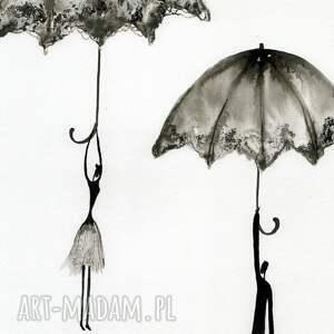 ART Krystyna Siwek minimalizm grafika 30x40 cm wykonana ręcznie