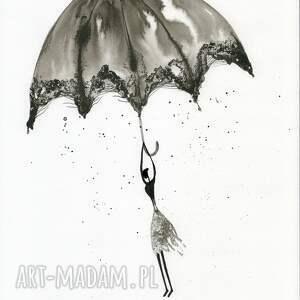 grafika 30x40 cm wykonana ręcznie, plakat, abstrakcja, elegancki minimalizm obrazy malow