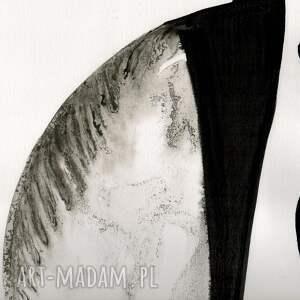 szare grafiki do salonu grafika 70x100 cm wykonana