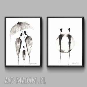 handmade obrazy grafika-do-salonu grafika czarno-białą do salonu