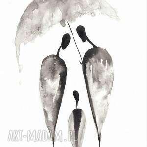 szare obrazy obraz-do-sypialni grafika czarno-białą do salonu