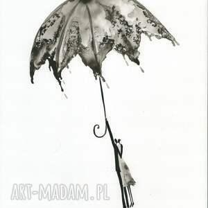 ART Krystyna Siwek grafika 30x40 cm wykonana ręcznie, abstrakcja, elegancki minimalizm, obraz obrazy autorskie