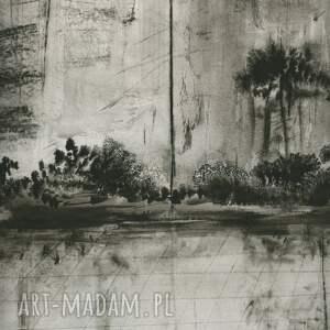 obraz do sypialni grafika 70 x 100 cm wykonana