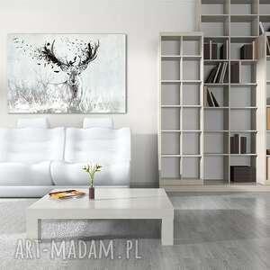 obrazy obraz na płótnie 120x80 - jeleń